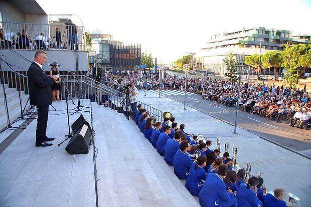 Proslava ob 10. opbletnici Osnovne šole Koper